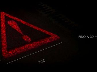 Il triangolo d'emergenza olografico è realtà
