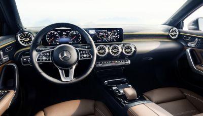 Gli interni della nuova Mercedes Classe A svelano il futuro