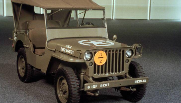 L'evoluzione di Jeep dal primo 4×4 del 1940 alla Wrangler Scrambler 2018 - Foto 5 di 11