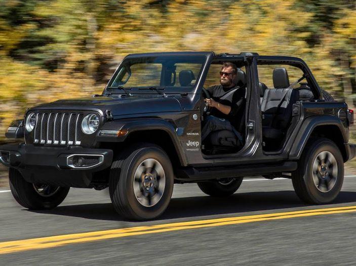 Nuovo Jeep Wrangler 2018, l'icona offroad cambia pelle - Foto 16 di 65