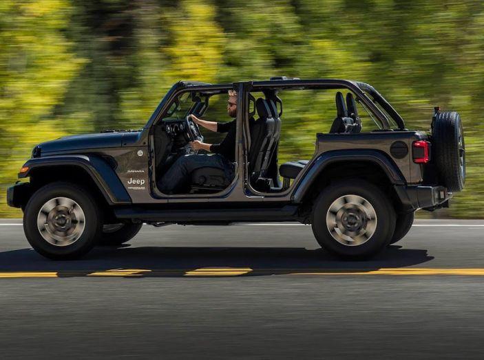 Nuovo Jeep Wrangler 2018, l'icona offroad cambia pelle - Foto 17 di 65
