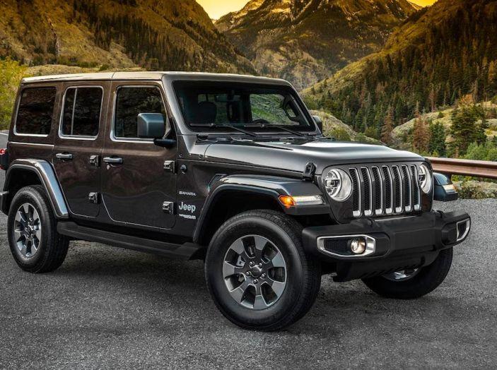 Nuovo Jeep Wrangler 2018, l'icona offroad cambia pelle - Foto 18 di 65