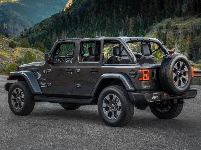Nuovo Jeep Wrangler 2018, l'icona offroad cambia pelle - Foto 20 di 65