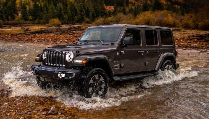 Jeep Wrangler, storia di un mito del fuoristrada - Foto 10 di 17