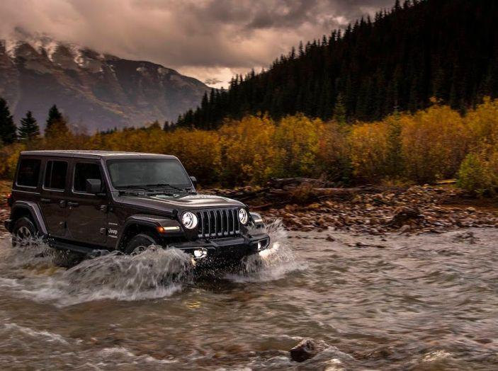 Nuovo Jeep Wrangler 2018, l'icona offroad cambia pelle - Foto 23 di 65