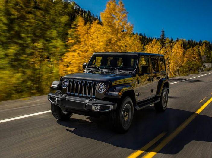 Nuovo Jeep Wrangler 2018, l'icona offroad cambia pelle - Foto 6 di 65