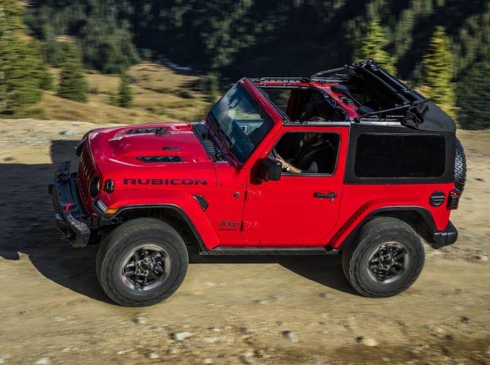 Nuovo Jeep Wrangler 2018, l'icona offroad cambia pelle - Foto 29 di 65