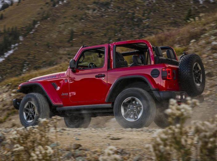 Nuovo Jeep Wrangler 2018, l'icona offroad cambia pelle - Foto 31 di 65
