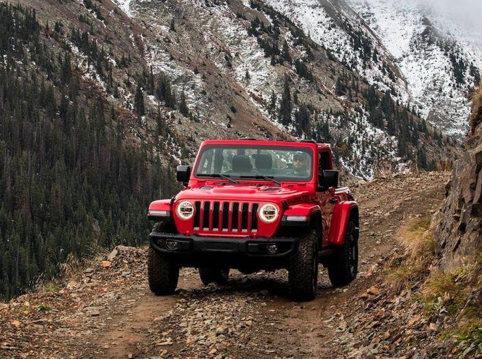 Nuovo Jeep Wrangler 2018, l'icona offroad cambia pelle - Foto 35 di 65