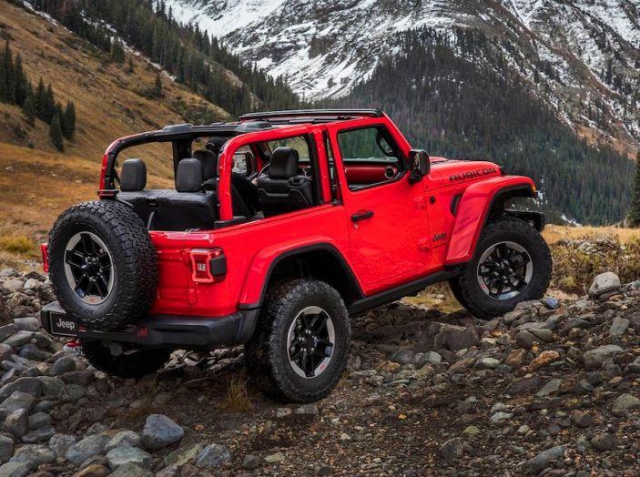 Nuovo Jeep Wrangler 2018, l'icona offroad cambia pelle - Foto 36 di 65