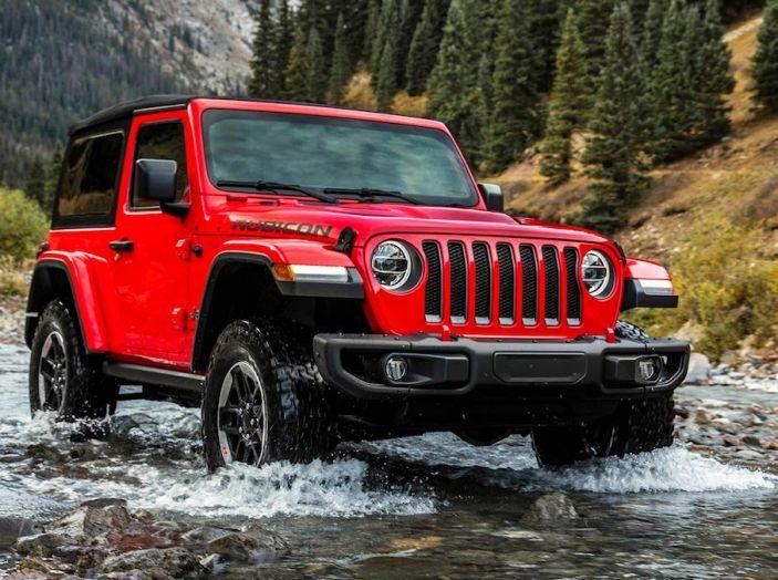 Nuovo Jeep Wrangler 2018, l'icona offroad cambia pelle - Foto 37 di 65