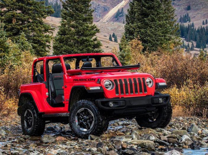 Nuovo Jeep Wrangler 2018, l'icona offroad cambia pelle - Foto 38 di 65