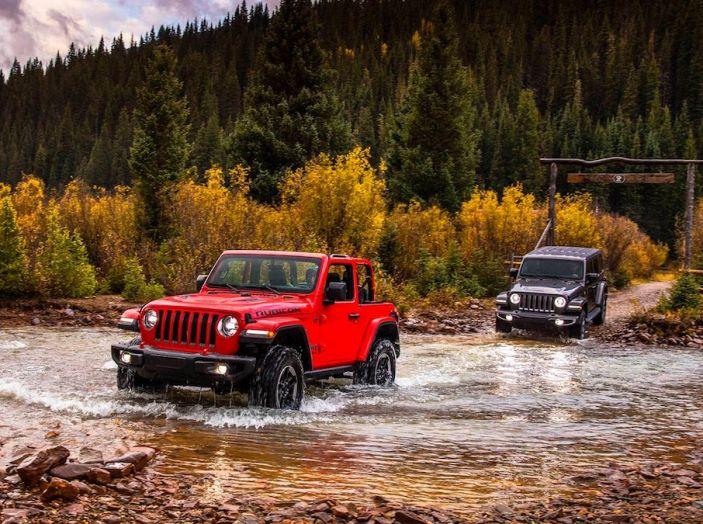 Nuovo Jeep Wrangler 2018, l'icona offroad cambia pelle - Foto 41 di 65