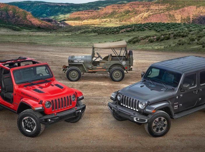Nuovo Jeep Wrangler 2018, l'icona offroad cambia pelle - Foto 1 di 65