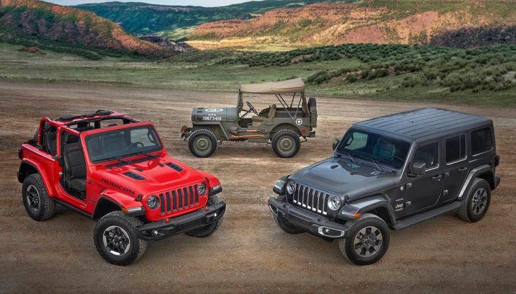 Jeep Wrangler, storia di un mito del fuoristrada - Foto 7 di 17
