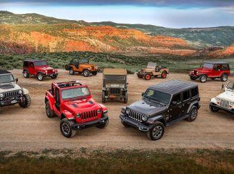Jeep Wrangler, storia di un mito del fuoristrada
