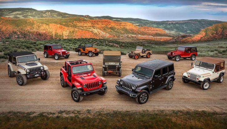 Jeep Wrangler, storia di un mito del fuoristrada - Foto 1 di 17