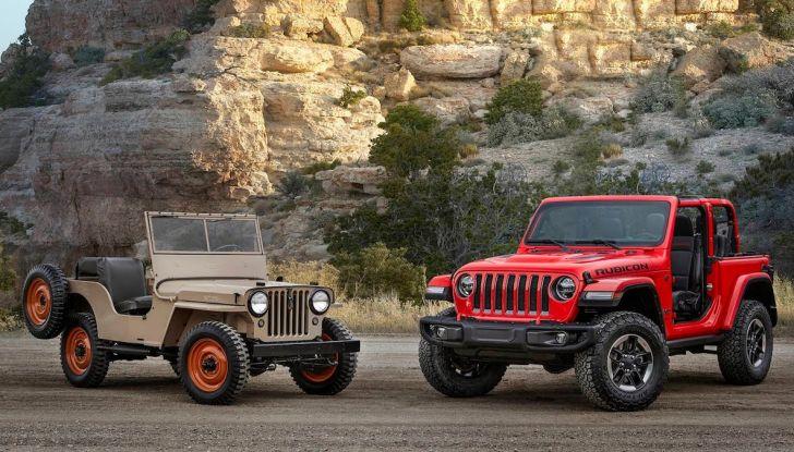 Jeep Wrangler, storia di un mito del fuoristrada - Foto 5 di 17