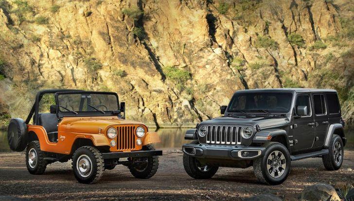 Jeep Wrangler, storia di un mito del fuoristrada - Foto 6 di 17