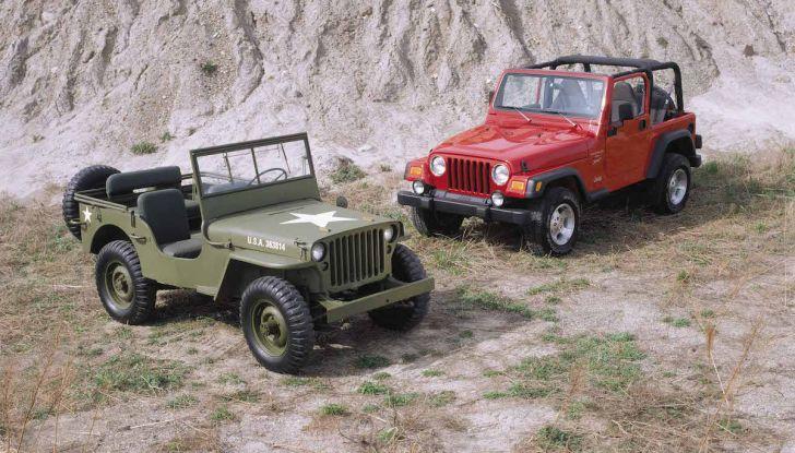 Jeep Wrangler, storia di un mito del fuoristrada - Foto 15 di 17