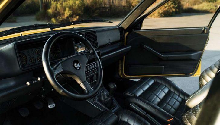 Lancia Delta HF Integrale Evoluzione Giallo Ferrari in vendita senza prezzo di riserva - Foto 3 di 6