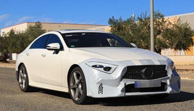 Mercedes CLS, immagini spia dei muletti della futura generazione