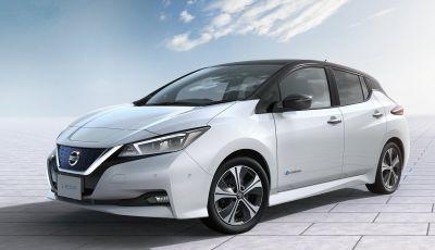 Promozione Nissan Leaf, febbraio 2018: prezzi da 299€ al mese