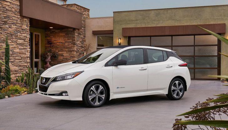 Nissan punta a 1 milione di auto elettriche entro il 2022 - Foto 12 di 12