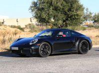 Nuova Porsche 911 Turbo 2019, primi test su strada