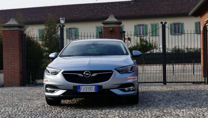 Opel Insignia Grand Sport Innovation 2.0 CDTI 170cv S&S prova su strada - Foto 20 di 34