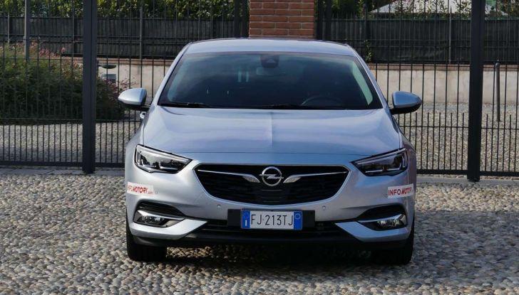 Opel Insignia Grand Sport Innovation 2.0 CDTI 170cv S&S prova su strada - Foto 21 di 34