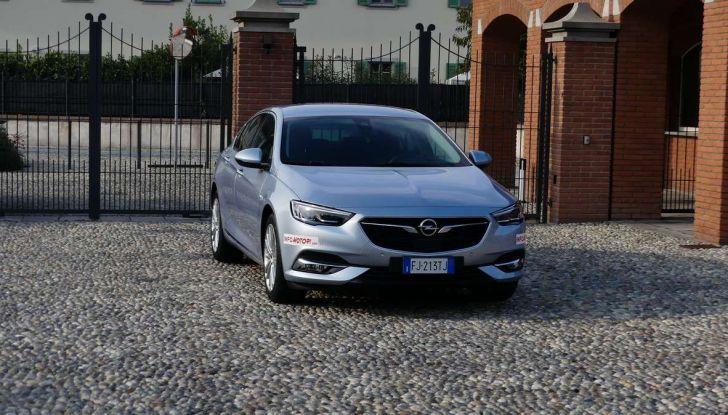 Opel Insignia Grand Sport Innovation 2.0 CDTI 170cv S&S prova su strada - Foto 23 di 34