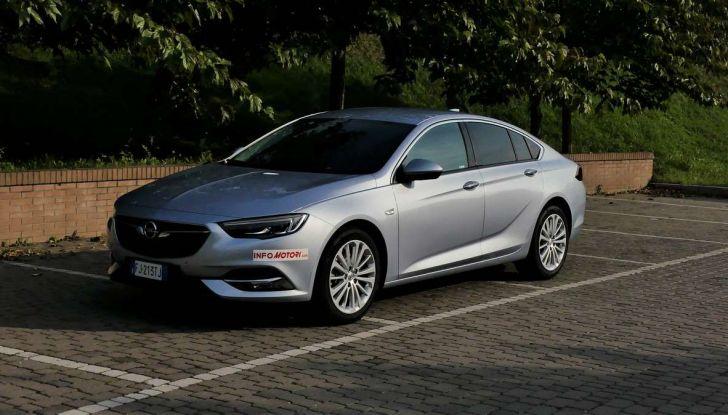 Opel Insignia Grand Sport Innovation 2.0 CDTI 170cv S&S prova su strada - Foto 6 di 34