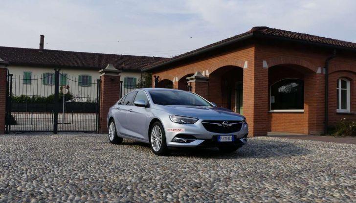 Opel Insignia Grand Sport Innovation 2.0 CDTI 170cv S&S prova su strada - Foto 25 di 34