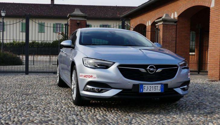 Opel Insignia Grand Sport Innovation 2.0 CDTI 170cv S&S prova su strada - Foto 7 di 34