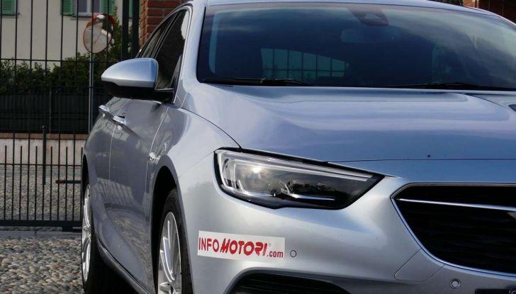 Opel Insignia Grand Sport Innovation 2.0 CDTI 170cv S&S prova su strada - Foto 28 di 34