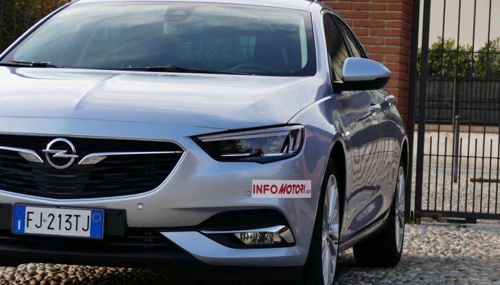 Opel Insignia Grand Sport Innovation 2.0 CDTI 170cv S&S prova su strada - Foto 2 di 34