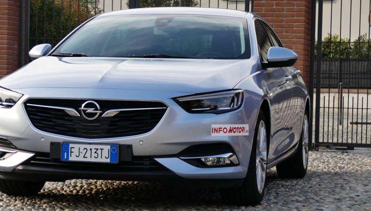Opel Insignia Grand Sport Innovation 2.0 CDTI 170cv S&S prova su strada - Foto 29 di 34