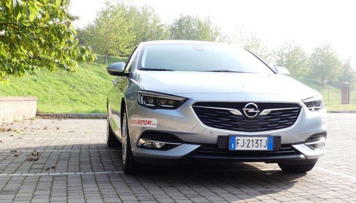 Opel Insignia Grand Sport Innovation 2.0 CDTI 170cv S&S prova su strada - Foto 4 di 34