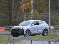Opel Mokka X, la nuova generazione impegnata nei test
