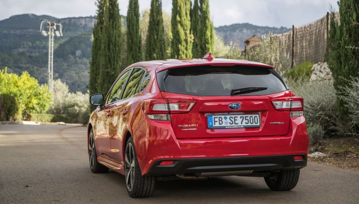Test drive Subaru Impreza 2018: Motore Boxer, AWD e tanta sicurezza - Foto 17 di 30