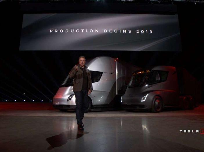 Il nuovo Truck Semi di casa Tesla scelto da Pepsi - Foto 8 di 18