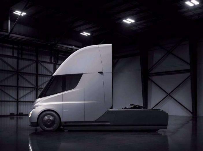Il nuovo Truck Semi di casa Tesla scelto da Pepsi - Foto 18 di 18