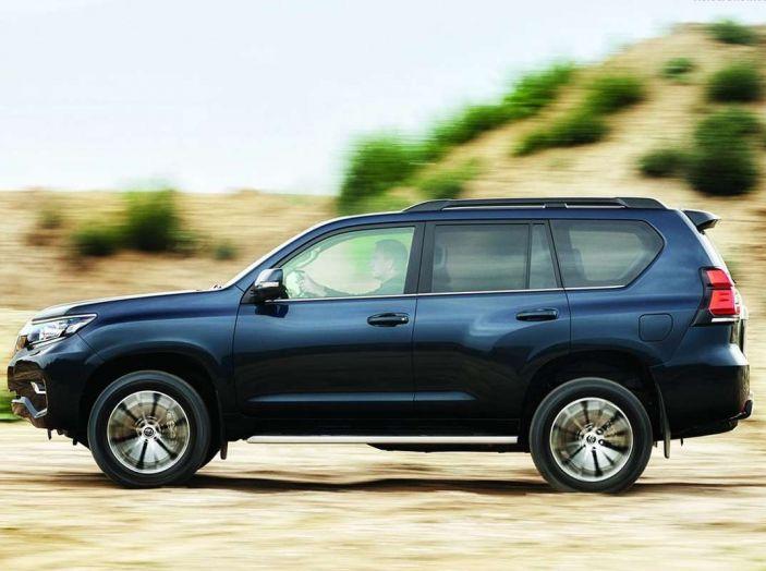 Toyota Land Cruiser restyling 2018, informazioni e dati tecnici - Foto 17 di 17