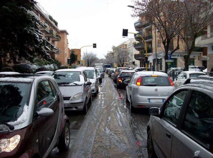 Roma, record europeo per l'utilizzo di mezzi privati
