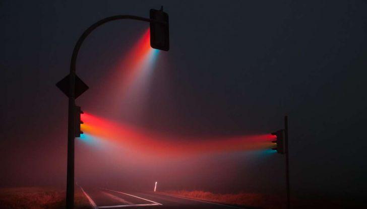 Visibilità ridotta causa nebbia, arriva il laser che illumina le strade - Foto 6 di 7