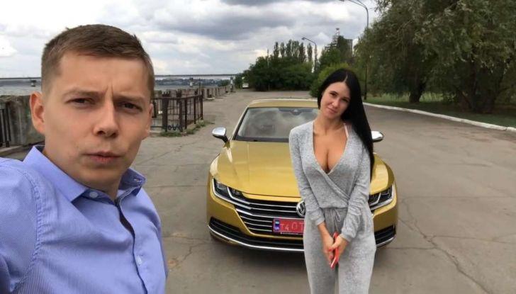 Volkswagen Arteon, in Russia il test drive si fa così - Foto 1 di 10