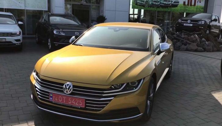 Volkswagen Arteon, in Russia il test drive si fa così - Foto 9 di 10