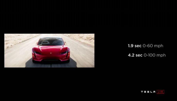 La nuova Tesla Roadster è l'auto più veloce del mondo, lo dicono i tester - Foto 12 di 16