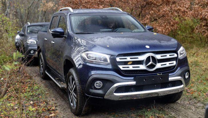 Mercedes-Benz Classe X: il primo pick-up Premium è firmato dalla Stella - Foto 16 di 17